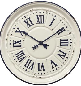 Style Craft Home Collection Indigo Farmhouse Clock