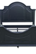 Trade Winds King - Chesapeake Arched Bed Frame - Black