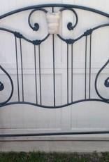 Corsican Queen - Antique Blue Bed Frame