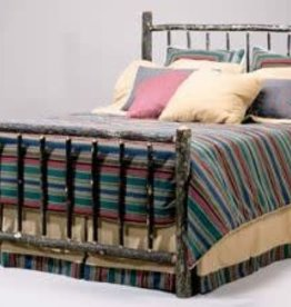 Flatrock Queen - Hickory / Berea Bed Frame