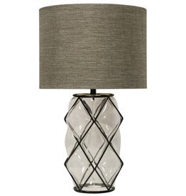 Harp & Finial Ambrose Table Lamp