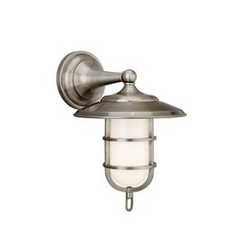 Hudson Valley Rockford Wall Sconce Antique Nickel