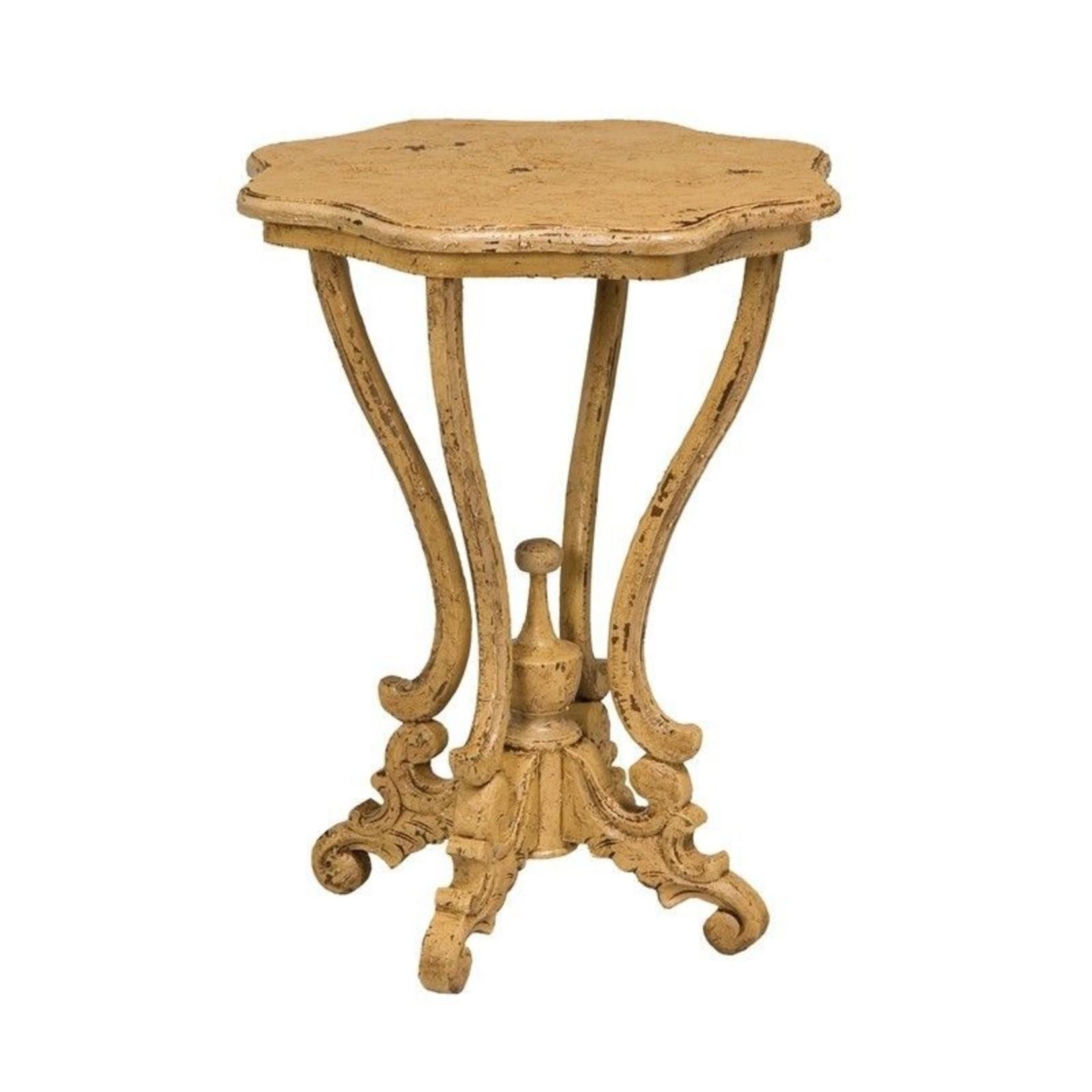 Dijon Side Table - Yellow
