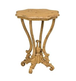 Guild Master Dijon Side Table - Yellow