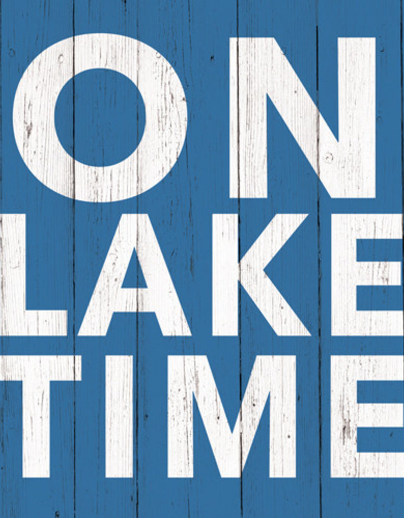 Paper Products Design On Lake Time Serviettes