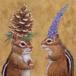 PPD Chipmunk Courtship Serviettes