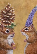 Paper Products Design Chipmunk Courtship Serviettes