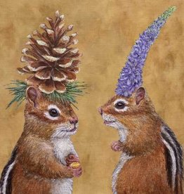 PPD Chipmunk Courtship Serviettes