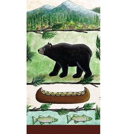 Paper Products Design Lodge Bear Serviettes