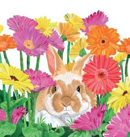 Paper Products Design Gerbera Bunny Serviettes