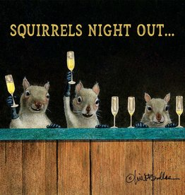 Paper Products Design Squirrels' Night Out Serviettes