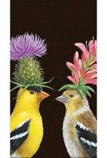 Paper Products Design Goldfinch Couple Serviettes