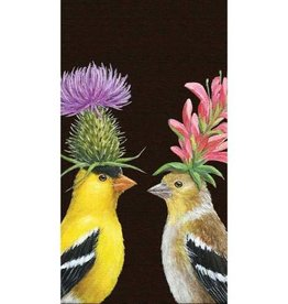 Paper Products Design Goldfinch Couple Serviettes