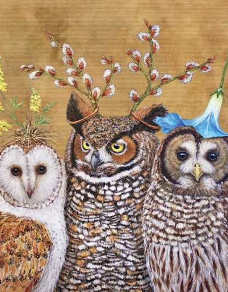 Paper Products Design Owl Family Serviettes