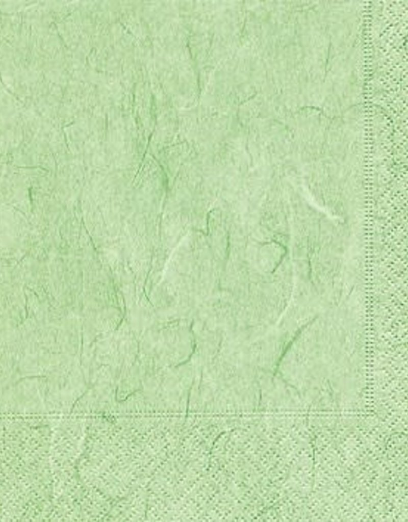 Old Country Design Pure Mint Green Serviettes