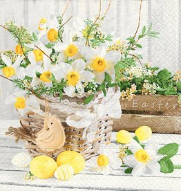 Old Country Design Blooming Easter Serviettes