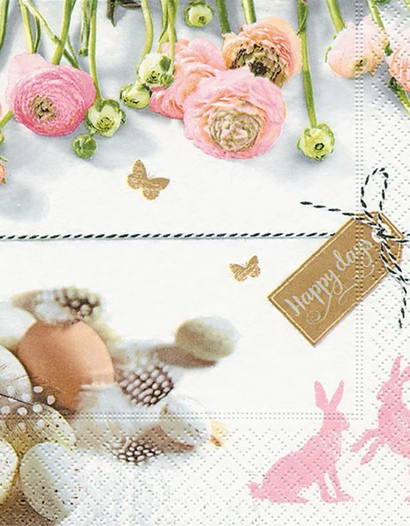 Old Country Design Cute Easter Serviettes