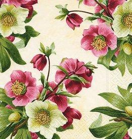 Old Country Design Easter Rose Serviettes