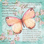 Butterfly Poetry Serviettes