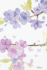 Old Country Design Tender Blossoms Serviettes