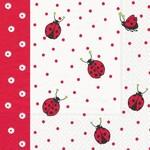 Ladybugs & Dots Serviettes