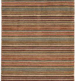 Dash & Albert Brindle Stripe Hand Knotted Rug 2x3