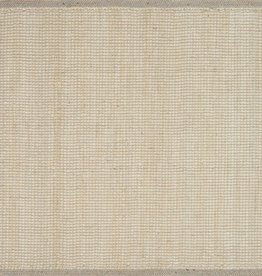 Sydney Light Grey Jute Rug 2x4