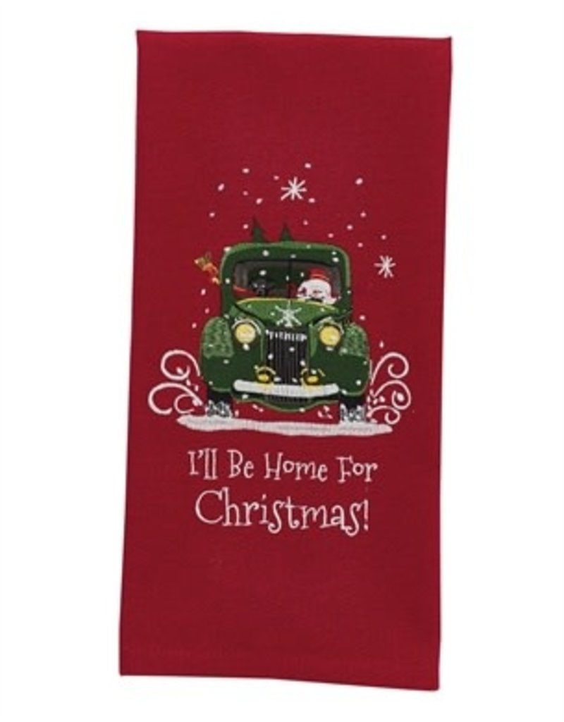 Park Design I'll Be Home for Christmas Dish Towel