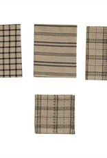 Park Design Fieldstone Plaid 3 Dish Towel & 1 Dish Cloth Set