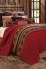 HiEnd Accents Bayfield Coverlet Queen Set