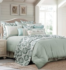 HiEnd Accents 4-PC Belmont Comforter Set, Super Queen