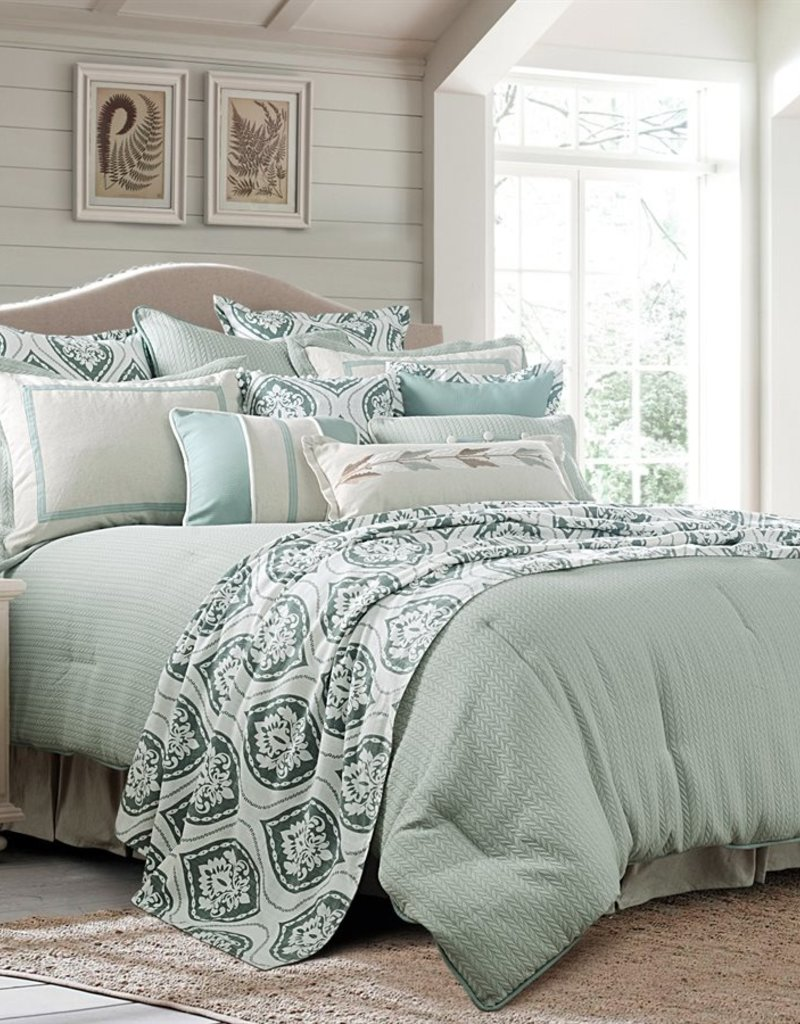 HiEnd Accents 4-PC Belmont Comforter Set, Super Queen