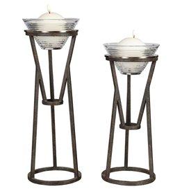 Uttermost Lane Candleholders, Set of 2