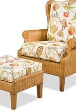 Braxton Culler Havana Wing Chair - Wicker