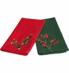 Tag ltd Greenery Guest Towel set of 2