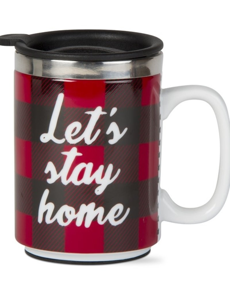 Tag ltd Let's Stay Home Insulated Travel Mug