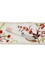 Tag ltd Autumn Bloom Small Platter & Spreader