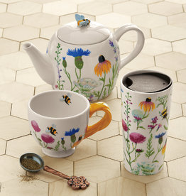 Tag ltd Teapot - Bee Wildflower