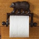 Park Design Cast Bear Toilet Tissue Holder
