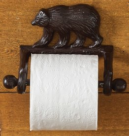 Park Design Cast Bear Toilet Tissue Holder