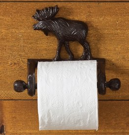 Park Design Cast Moose - Toilet Tissue Holder
