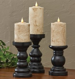 Park Design Southport Short Candlesticks S/3