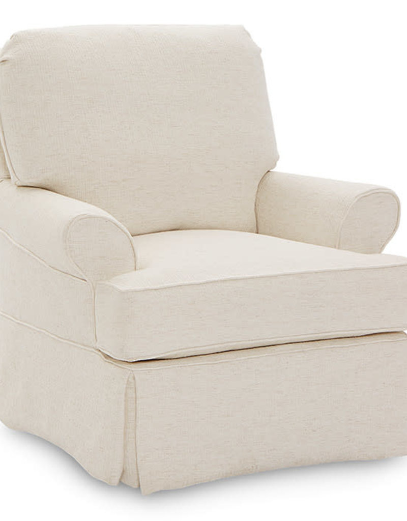 Four Seasons Claire Accent Glider Chair - Lenoir Sienna