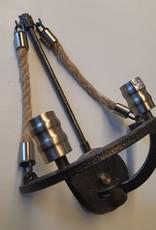 Elk Lighting Elk Lighting Natural Rope 2-Light Chandelier