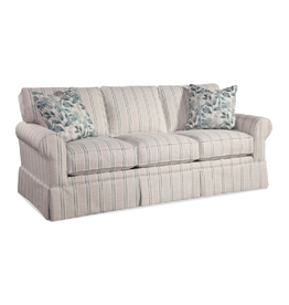 Braxton Culler Benton Sofa - Blue & Cream Stripe