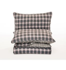 Brunelli Robert Quilt/Shams, Queen