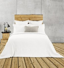 Brunelli Rustic White Duvet Cover, Queen