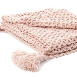 Brunelli Shiva Pink Throw
