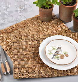 Saro Trading Company Water Hyacinth Placemat - Natural