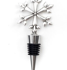 ADV Snowflake Bottle Stopper